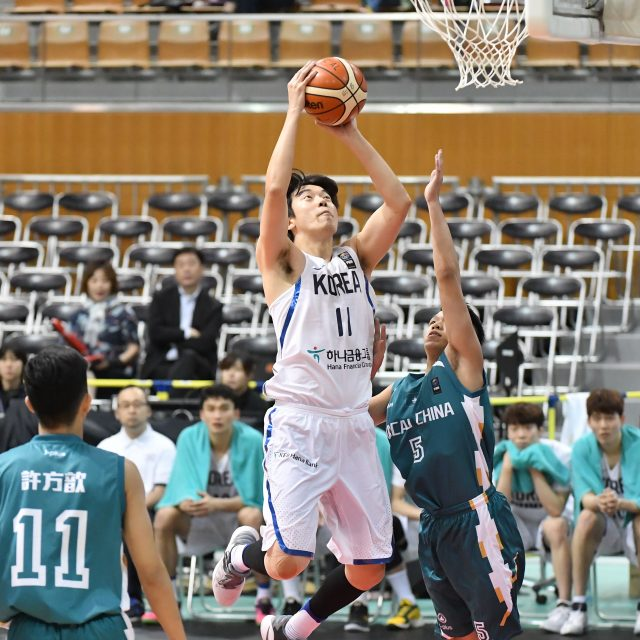 予選ラウンド グループA 韓国vsマカオ