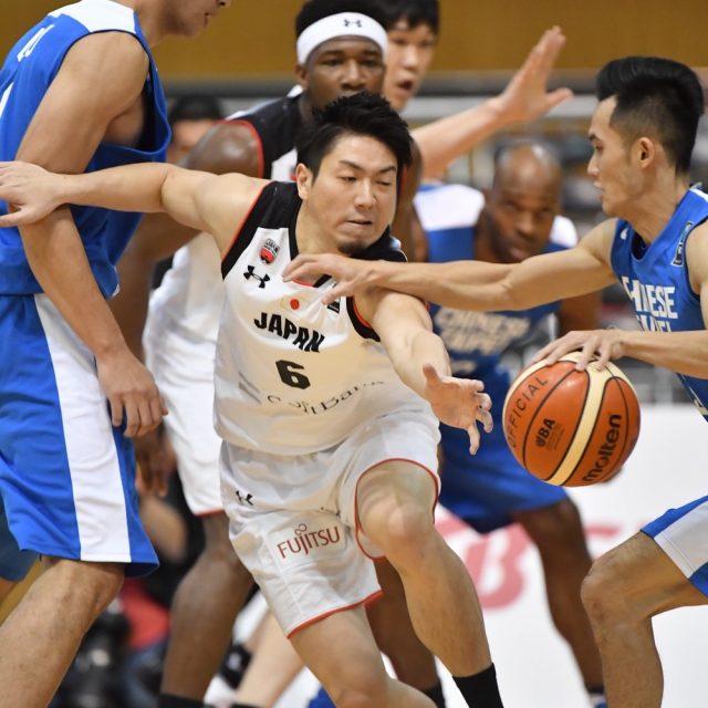 ボールを奪いに行く#6 比江島 慎選手(シーホース三河)