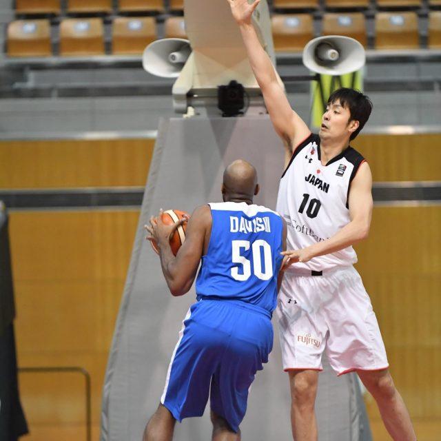 #10 竹内 公輔選手(栃木ブレックス)のディフェンス