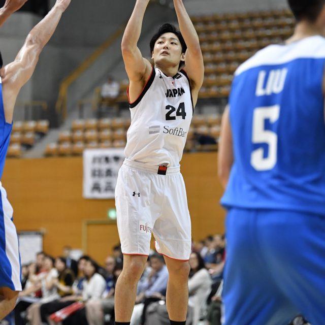 積極的にシュートを放ち、点差を詰める#24 田中 大貴選手(アルバルク東京)