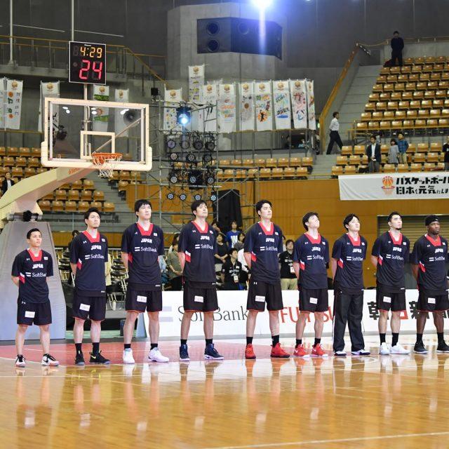 ラストゲームに臨む「AKATSUKI FIVE」男子日本代表チーム