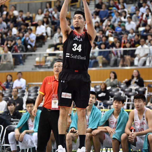#34 小野 龍猛選手(千葉ジェッツ)の3Pシュート