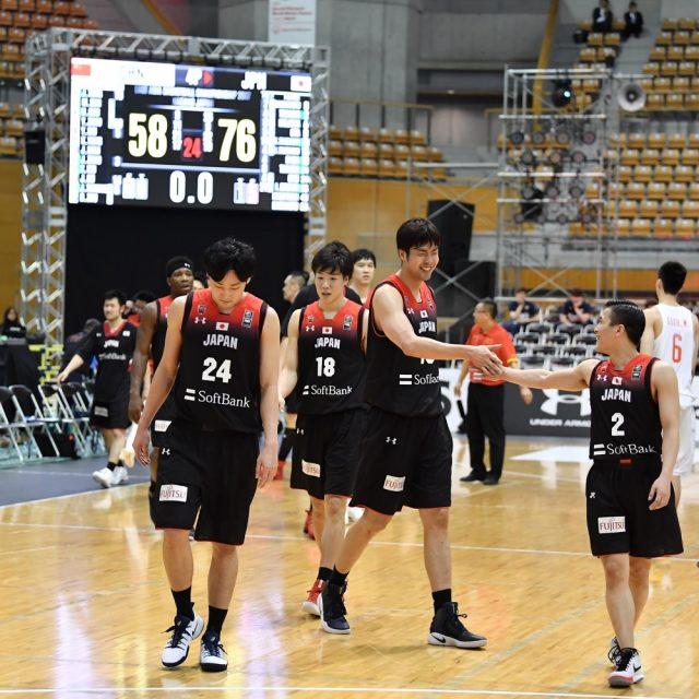 76-58で中国に勝利し、3位となった「AKATSUKI FIVE」男子日本代表チーム