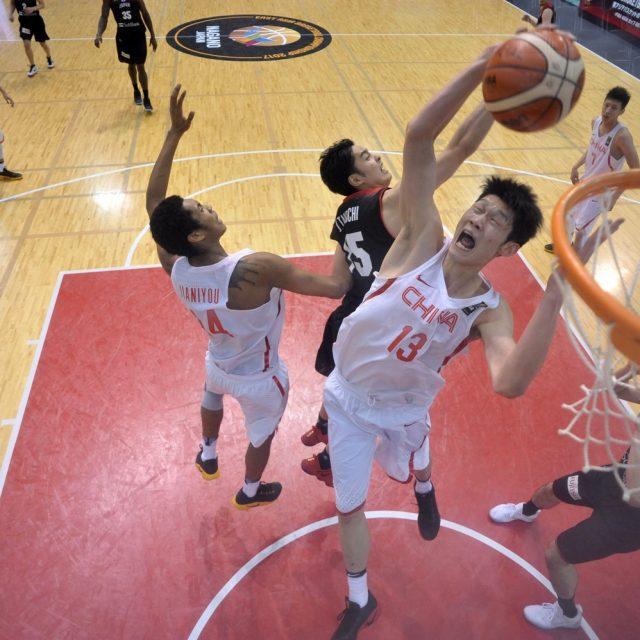 中国#13HU選手